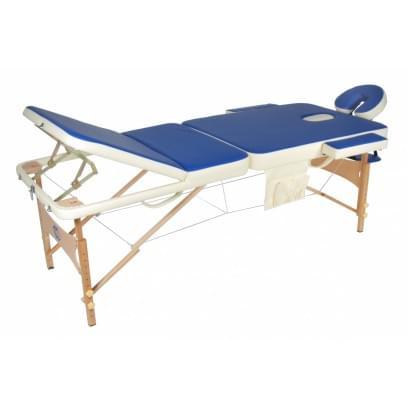 Массажный стол складной деревянный JF-AY01 3-х секционный М/К